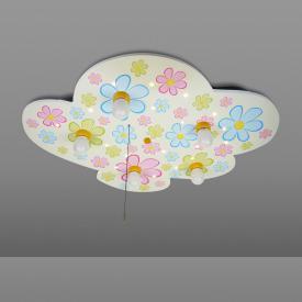 Niermann Standby Colourful Flowers LED ceiling light