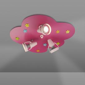 Niermann Standby Flower Meadow ceiling light/spotlight 3 headed