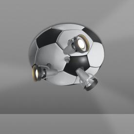 Niermann Standby Football ceiling light/spotlight 3 headed