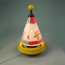 Niermann Standby Rainbow Rabbit Carrousel table lamp
