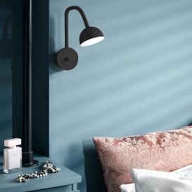 Northern Blush LED wall light with dimmer