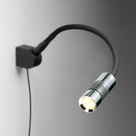 Oligo A LITTLE BIT LED wall light/spot with button dimmer