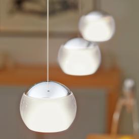 Oligo BALINO LED pendant light with adjustable height, 3 heads