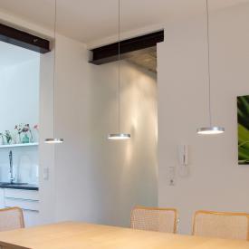 Oligo DECENT LED pendant light with dimmer 3 heads