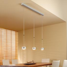 Oligo GRACE pendant light with dimmer, 3 heads