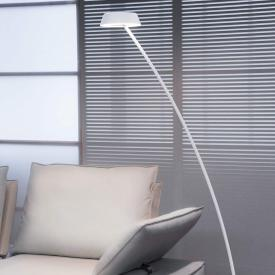 Oligo Plus GLANCE LED floor lamp curved with dimmer