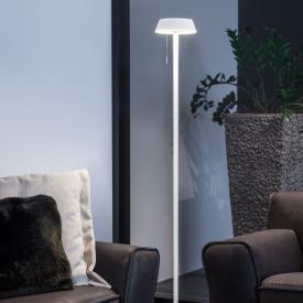 Oligo Plus GLANCE LED floor lamp gerade with dimmer