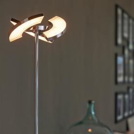 Oligo Plus TRINITY LED floor lamp with dimmer