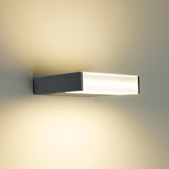 Oligo MAVEN S LED wall light with button dimmer