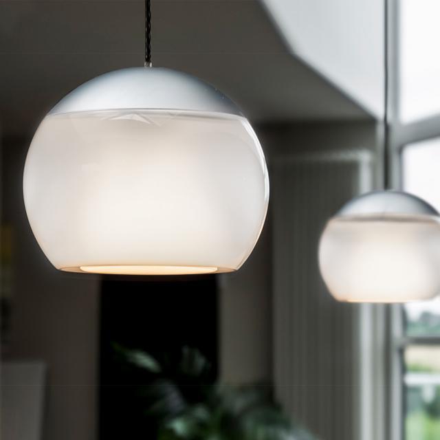 OLIGO BALINO LED pendant light with adjustable height, 2 heads