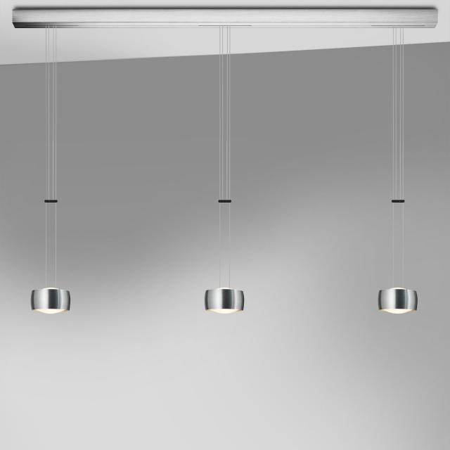 OLIGO GRACE LED pendant light 3 heads with dimmer