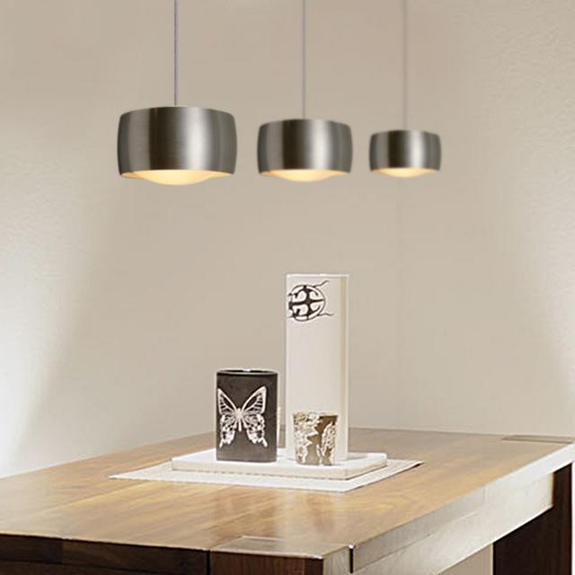 OLIGO GRACE LED pendant light with adjustable height and dimmer, 3 heads