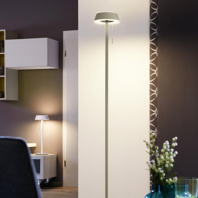OLIGO Plus GLANCE LED floor lamp straight with dimmer