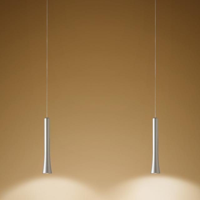 OLIGO RIO LED pendant light with adjustable height 2 heads