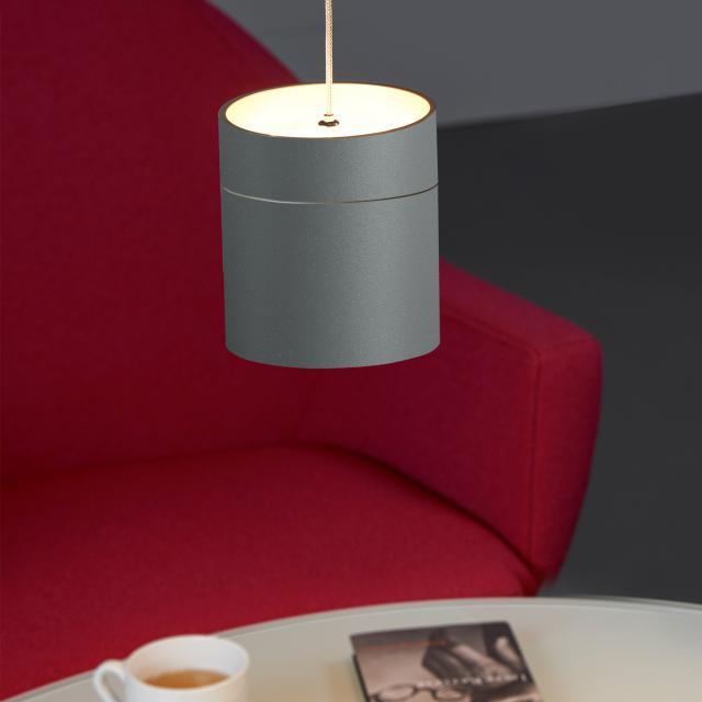 OLIGO TUDOR M LED pendant light with adjustable height and dimmer, 1 head