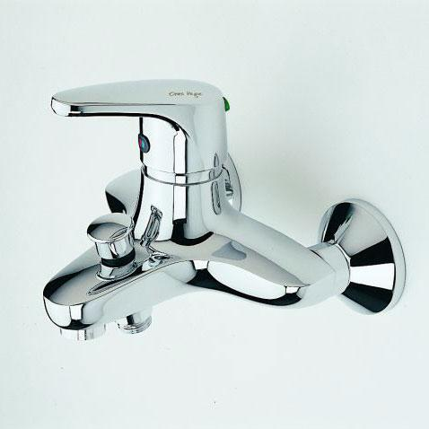 Oras Vega single lever bath/shower mixer with eco-button