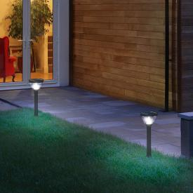 Osram Endura Style Lantern Solar/AC LED bollard light