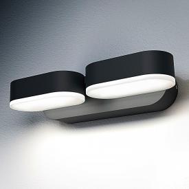 Osram Endura Style Mini Spot LED wall light, 2 headed