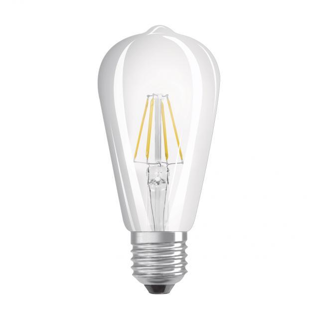 LEDVANCE LED Smart HomeKit Filament Edison60, E27 dimmable