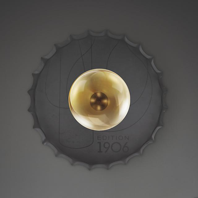 LEDVANCE Vintage Edition 1906 Bottle Cap wall light with cable