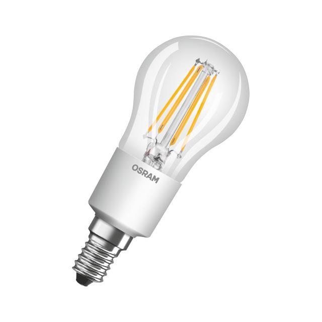 Osram LED Star Plus GLOWdim Retrofit Filament Classic P, E14 dimmable