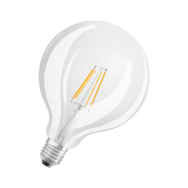 Osram LED Star Plus GLOWdim Retrofit Filament Globe 125, E27 dimmable