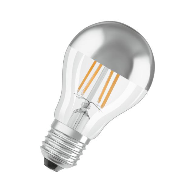 Osram LED Star Retrofit Filament Classic A Mirror half mirror lamp, E27