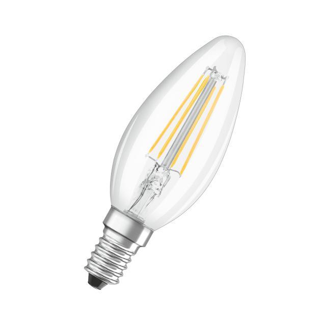 Osram LED Superstar Retrofit Filament Classic B, E14 dimmable
