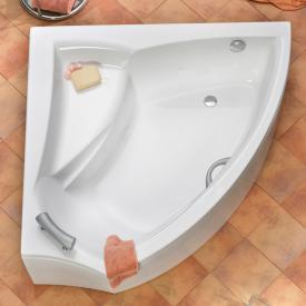Ottofond Aura corner bath white