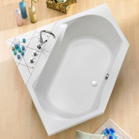 Ottofond Corsica corner bath white without support