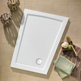 Ottofond Eclipse shower tray, model B left version