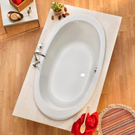 Ottofond Gomera oval bath with leg frame
