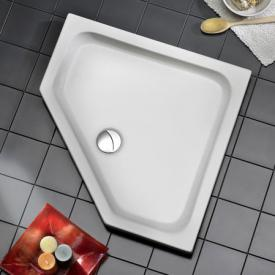 Ottofond Ibiza pentagonal shower tray with support