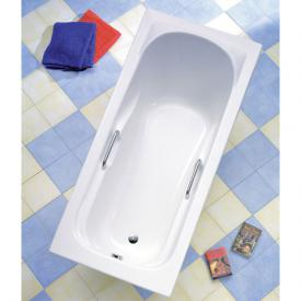 Ottofond Korfu rectangular bath with support