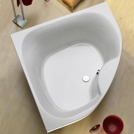 Ottofond Lima corner bath with panel side length 150 cm, 310 litres, with panel