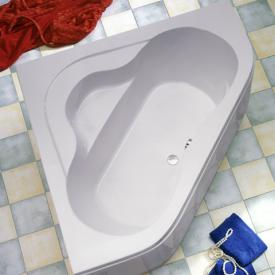 Ottofond Lucia corner bath with panel with panel