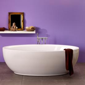 Ottofond Luna freestanding oval bath white