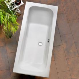 Ottofond Malta rectangular bath with leg frame
