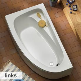 Ottofond Marina corner bath with panel left version, with panel
