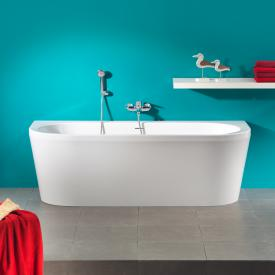 Ottofond Modena back-to-wall bath with panelling