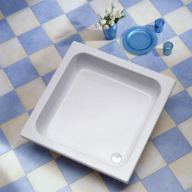 Ottofond Saba square shower tray without support