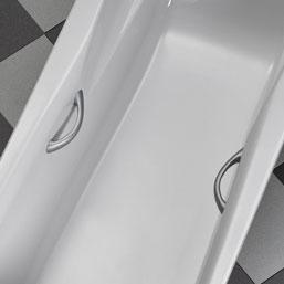 Ottofond set of handles for Atlanta white