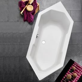 Ottofond Sierra hexagonal bath without support