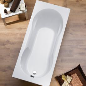 Ottofond Viva rectangular bath with support