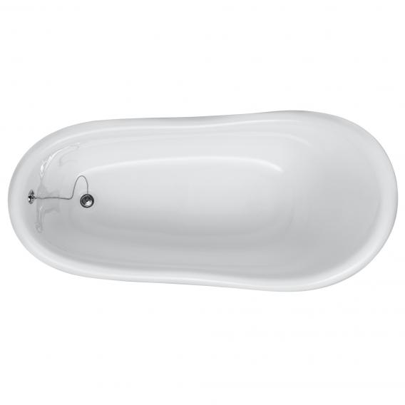 Ottofond Azur freestanding oval bath black/white