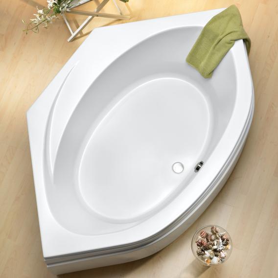 Ottofond Canary corner bath with bath support