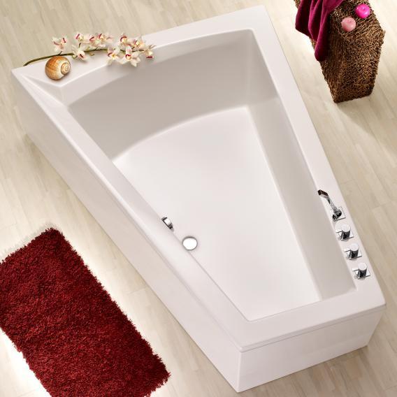 Ottofond Galia II corner bath white