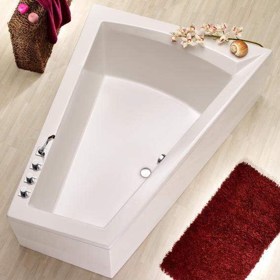 Ottofond Galia II Mod. A corner bath white, right corner