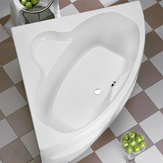 Ottofond Katamaran corner bath with leg frame