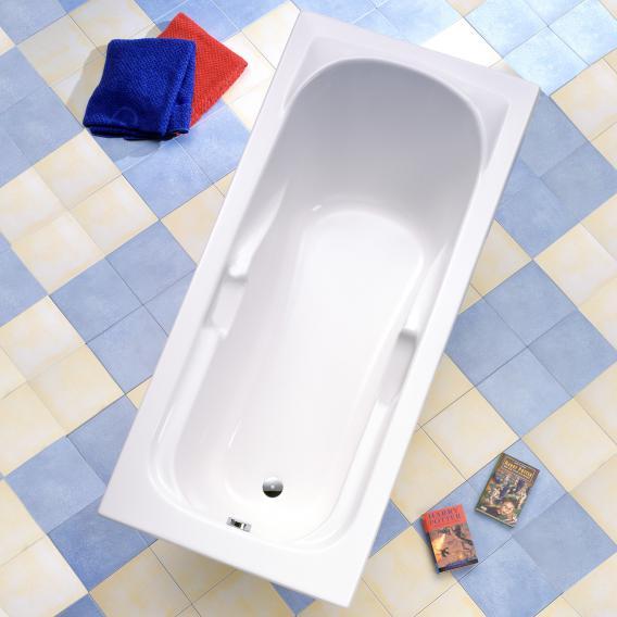 Ottofond Korfu rectangular bath with support